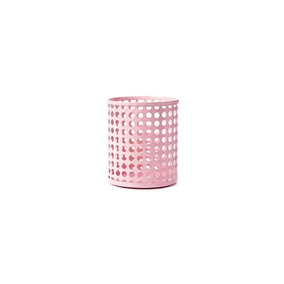 Design Ideas Steel Edison Pencil Cup, Pink (3434805)