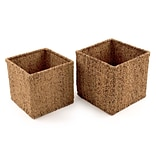 Design Ideas Water Hyacinth Baskets, Set of 2 (5513609)
