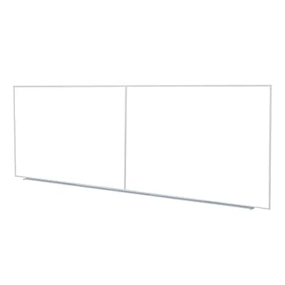 Ghent 4 H x 12 W Non-Magnetic Whiteboard with Aluminum Frame (M2-412-4)