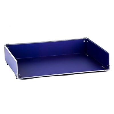 Design Ideas Paperboard Frisco Letter Tray, Navy (3060583)