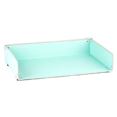 Design Ideas Paperboard Frisco Letter Tray, Mint (3060682)