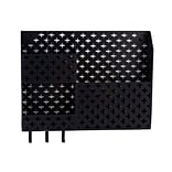 Design Ideas Steel Euler Wall Organizer, Black (3442174)