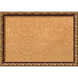 Amanti Art Framed Cork Board Small Antique Bronze 20 x 14 Frame Bronze (DSW1288311)