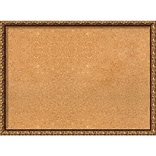 Amanti Art Framed Cork Board Large Antique Bronze 30 x 22 Frame Bronze (DSW3979301)