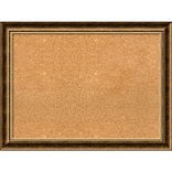Amanti Art Framed Cork Board Large Manhattan Bronze 32 x 24 Frame Bronze (DSW3979901)