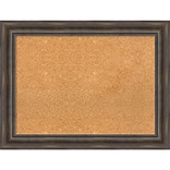 Amanti Art Framed Cork Board Large Rustic Pine 34 x 26 Frame Wood (DSW3980094)