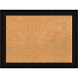 Amanti Art Framed Cork Board Large Manteaux Black 32 x 24 Frame Black (DSW3980408)