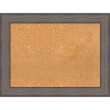 Amanti Art Framed Cork Board Large Country Barnwood 34 x 26 Frame Wood (DSW3980435)