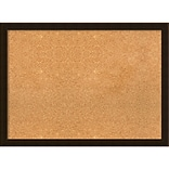 Amanti Art Framed Cork Board Large Espresso Brown 30 x 22 Frame Espresso (DSW3994562)