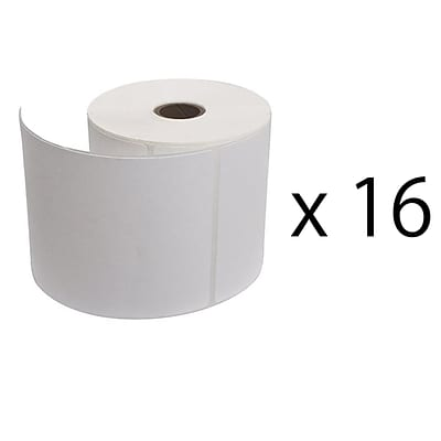 Vangoddy 4x6 in Industrial Thermal Label 16 Rolls 4000 Shipping  Labels (PT_000000932)