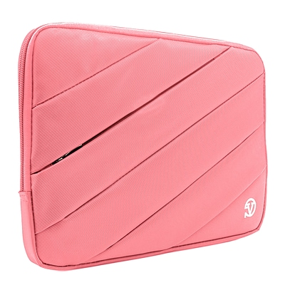 Vangoddy Nylon Sleeve Case for 14 inch 15.6 Inch Laptop, Pink (PT_NBKLEA114_HP)