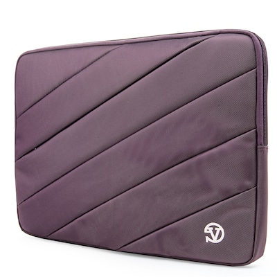 Vangoddy Nylon Sleeve Case for 13.3 inch Laptop, Purple (PT_NBKLEA103_HP)