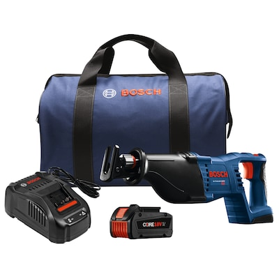 "18 Volt 1 1/8"" Reciprocating Saw Kit with CORE18V 6.3Ah Battery (CRS180B14)"