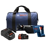 18-Volt 1-1/8 Reciprocating Saw Kit with CORE18V 6.3Ah Battery (CRS180B14)