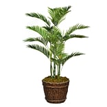 Vintage Home 56 Tall Palm Tree with Burlap Kit and Fiberstone Planter (VHX131217)