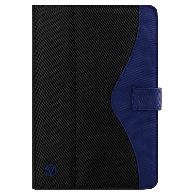Vangoddy Universal Portfolo Case for iPad Pro 10.5-inch tablet, Black Blue (RDYLEA372)