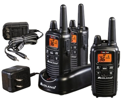 Midland 36 Channel Two Way Radio 3 Pack (LXT633VP3)