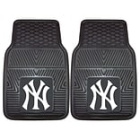 FANMATS New York Yankees 2-pc Vinyl Car Mats 17x27 (8759)