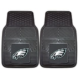 FANMATS Philadelphia Eagles 2-pc Vinyl Car Mats 17x27 (8771)