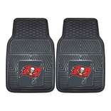FANMATS Tampa Bay Buccaneers 2-pc Vinyl Car Mats 17x27 (8908)