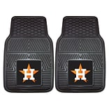 FANMATS Houston Astros 2-pc Vinyl Car Mats 17x27 (8839)