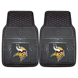 FANMATS Minnesota Vikings 2-pc Vinyl Car Mats 17x27 (8775)