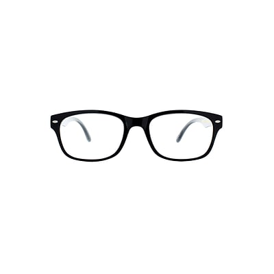 Victoria Klein +3.00 Strength Fashion Reading Glasses, Black (E9078)