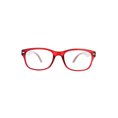 Victoria Klein +2.00 Strength Fashion Reading Glasses, Red (E9078)