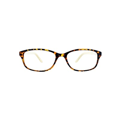 Victoria Klein +1.50 Strength Fashion Reading Glasses, Brown (E9082)