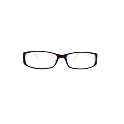 Victoria Klein Crystals +3.00 Strength Fashion Reading Glasses, Demi (E9092R)