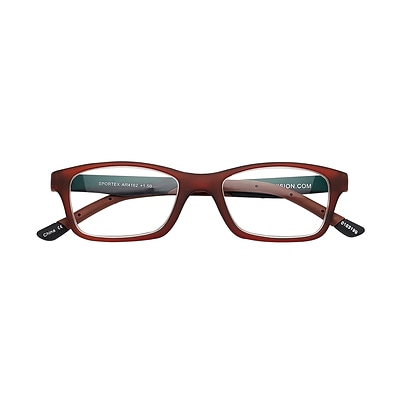 Sportex +1.50 Strength Performance Reading Glasses, Brown (EAR4162)