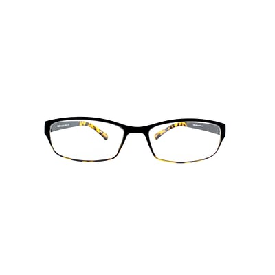 Flex 2 +1.25 Strength Flexible Reading Glasses, Black Demi  (E5028-125-960)