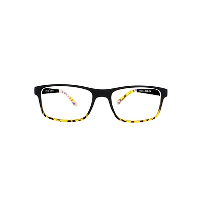 Optitek +3.00 Strength Computer Reading Glasses, Black Demi (E2201)