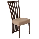 Flash Furniture Polyester Dining Chair Walnut (ESCB3820YBHWBGE)