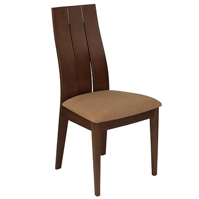 Flash Furniture Polyester Dining Chair Walnut (ESCB3902YBHWBRN)