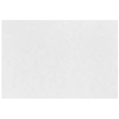 JAM Paper® Blank Note Cards, 4 x 6, White Parchment, 25/Pack (17534162)