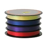 JAM Paper® Curling Ribbon, 3/8 x 20 Ft. - Red, Purple, Blue & Yellow Multicolor- Sold Individually