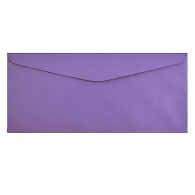 JAM Paper® #9 Business Envelopes, 3-7/8 x 8-7/8, Violet Recycled, 1000/Carton (1534200b)