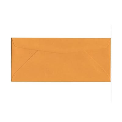 JAM Paper® #10 Commercial Business Envelopes , 4-1/8 x 9-1/2, Brown Kraft, 50/Pack (3984i)