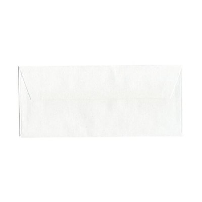 JAM Paper® #10 Business Envelopes, 4-1/8 x 9-1/2, Recycled White Crystal, 1000/Carton (24312574)