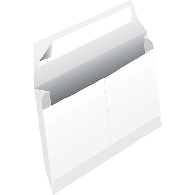JAM Paper® White Tyvek® Envelopes w/ Peel & Seal Closure, 10 x 13 x 2, 100/Pack (376634195b)