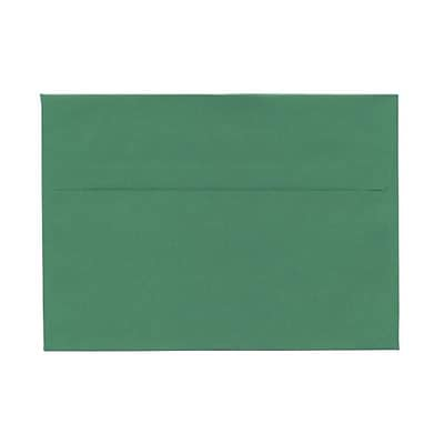 JAM Paper® 5-7/8 x 8-1/4 Envelopes, 5-7/8 x 8-1/4, Green, 1000/carton (51512551)