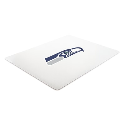 Deflecto Seattle Seahawks EconoMat® 46 x 60 Rectangle Low Pile Chair Mat (NFL11442FSEACOM)