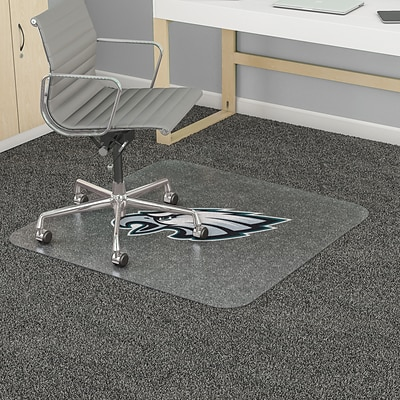 Deflecto Philadelphia Eagles EconoMat® 46 x 60 Rectangle Low Pile Chair Mat (NFL11442FPHICOM)