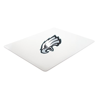 Deflecto Philadelphia Eagles SuperMat 45 x 53 Rectangle Medium Pile Chair Mat (NFL14242PHICOM)