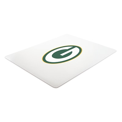 Deflecto Green Bay Packers EconoMat® 45 x 53 Rectangle Hard Floor Chair Mat (NFL21242GBCOM)