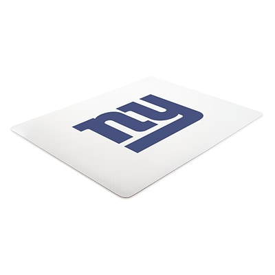 Deflecto New York Giants EconoMat® 45 x 53 Rectangle Hard Floor Chair Mat (NFL21242NYGCOM)