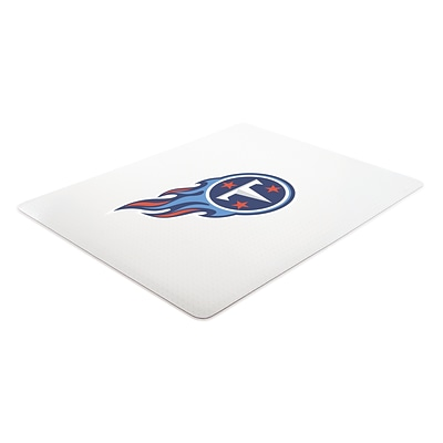 Deflecto Tennessee Titans EconoMat® 45 x 53 Rectangle Hard Floor Chair Mat (NFL21242TENCOM)