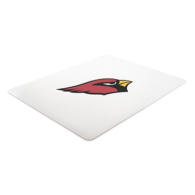 Deflecto Arizona Cardinals EconoMat® 46 x 60 Rectangle Hard Floor Chair Mat (NFL21442FARICOM)