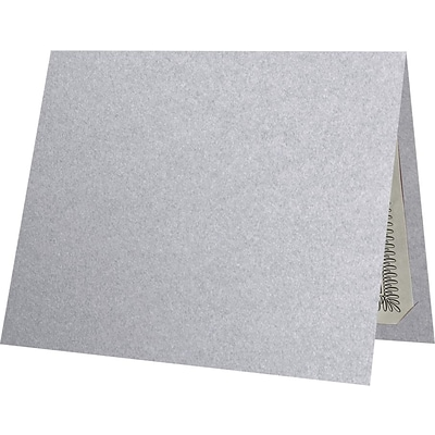 LUX 9-1/2 x 12 Certificate Holders, Silver Metallic, 250/Pack (CH91212-M06-250)